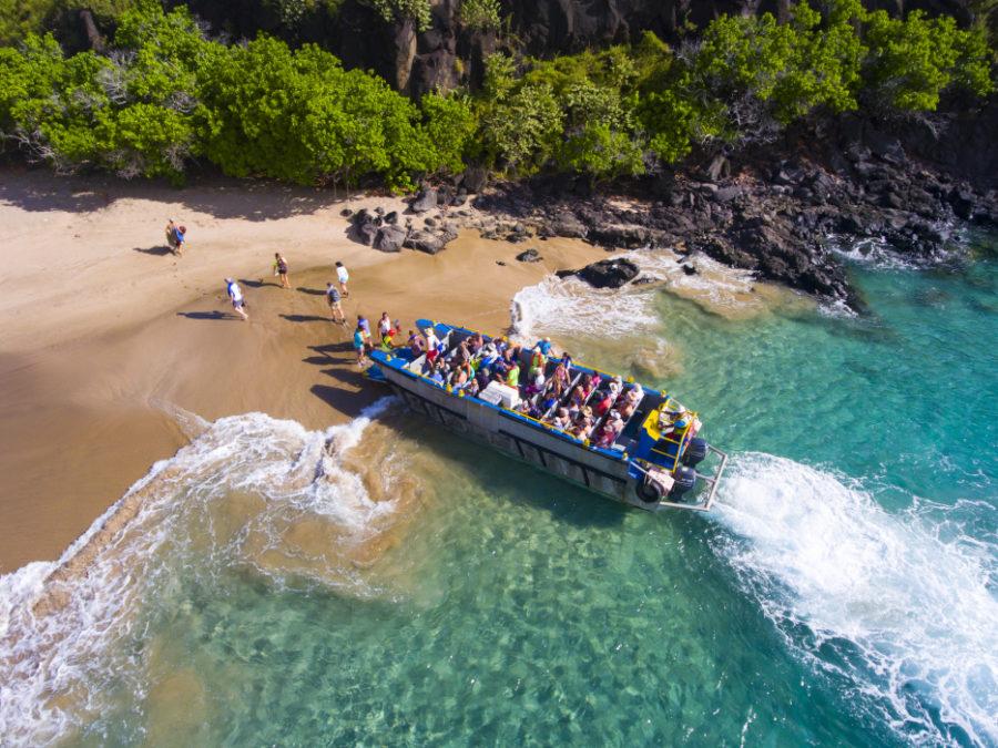 Ausschiffungsstopp in Polynesien