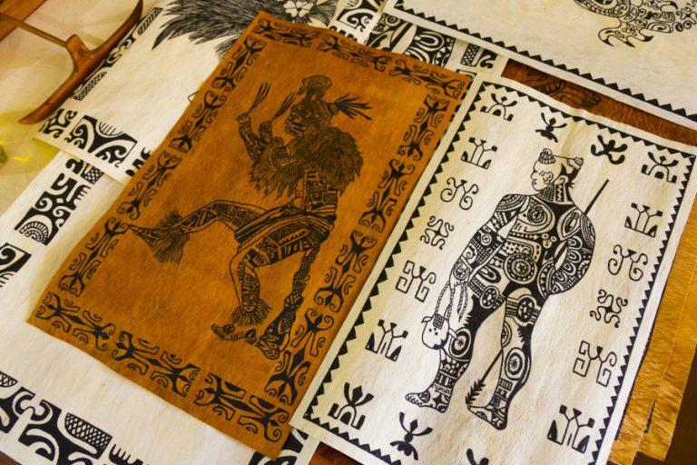 art ancestral polynesien