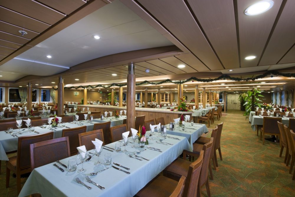 dining room mixed cargo