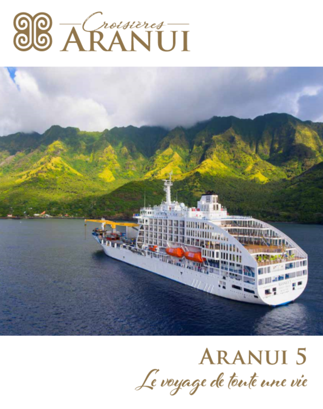 Aranui 5 croisiere iles marquises brochure