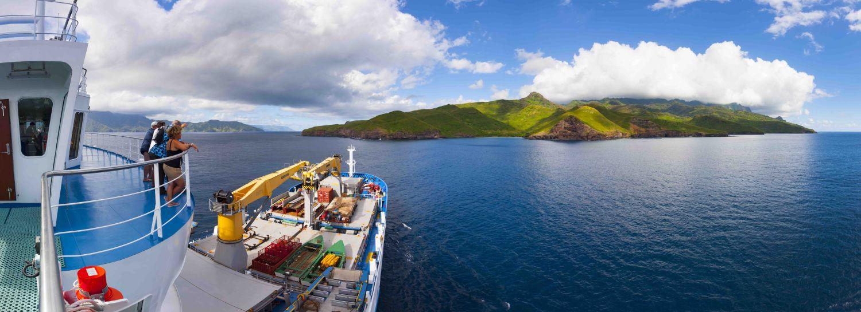 Navire Aranui 5 croisiere en polynesie
