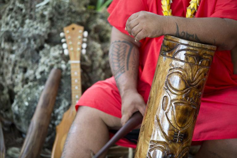 musique tambour iles marquises